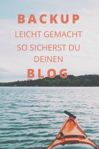 Machst du regelmässig ein Backup deines Blogs? Dann wird es aber mal Zeit! Es geht kann dir viel Arbeit sparen und geht schneller als du denkst. Ich zeige dir wie es geht.