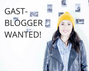 GAST-BLOGGER WANTED!