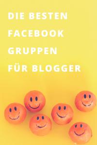 Die besten Facebook Gruppen für Blogger I www.blogchicks.de