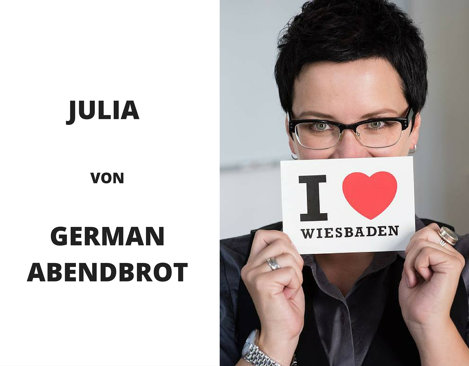JULIA VON GERMAN ABENDBROT {meet the blogger} I www.blogchicks.de