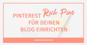 pinterest rich pins