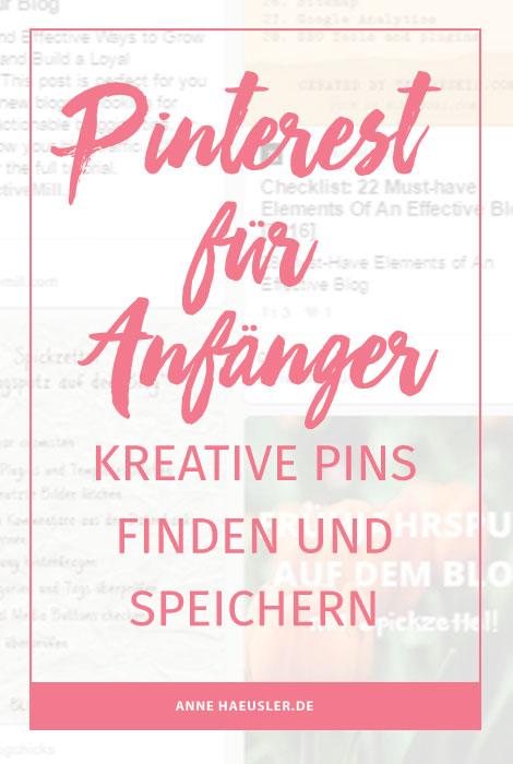 So findest du die besten Pins für deine Nische I www.annehaeusler.de